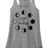 Just A Phase Adult Tee Or Tank