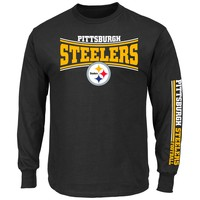 Pittsburgh Steelers 2015 Primary Receiver Long Sleeve NFL T-Shirt