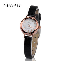 High Quality ladies watch Quartz Women Leather Strap Watch