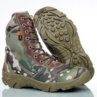 Hot Sale On Sale Hot Deal Outdoors Camouflage Camping Boots [6632627911]