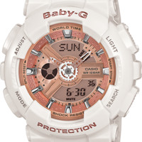 BA110-7A1- Baby-G White - Womens Watches