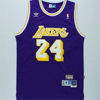 Brand New NBA Jersey Los Angeles Lakers #24 Kobe Bryant Blue