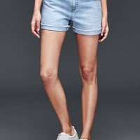 ORIGINAL 1969 best girlfriend contrast waistband shorts | Gap