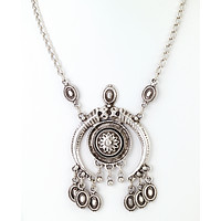 Turkish Horn Pendant Necklace
