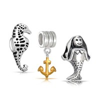 Bling Jewelry Siren Song Sea Charms