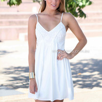 THIS IS LOVE DRESS , DRESSES, TOPS, BOTTOMS, JACKETS & JUMPERS, ACCESSORIES, 50% OFF SALE, PRE ORDER, NEW ARRIVALS, PLAYSUIT, COLOUR, GIFT VOUCHER,,White,Print,SLEEVELESS,MINI Australia, Queensland, Brisbane