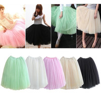 Fairy Style layer Tulle Mini Dress