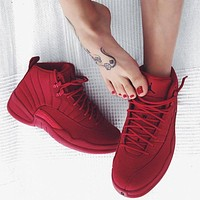Air Jordan 12 GS ¡°Bulls¡± Gym Red