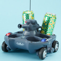 RC Water and Land Tank Drink Carrier  @ Sharper Image