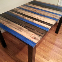 Rustic Distressed Dining Table / Kitchen Table