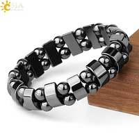 Hematite Stone Magnetic Weight Loss Therapy Bracelet