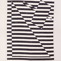 Offset Geo Stripe Rug | Urban Outfitters