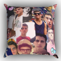 Jack Gilinsky Zippered Pillows  Covers 16x16, 18x18, 20x20 Inches