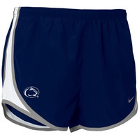 Nike Penn State Nittany Lions Navy Blue Ladies Tempo Shorts