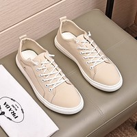prada men fashion boots fashionable casual leather breathable sneakers running shoes 57