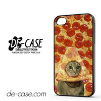 Cat Pizza Funny Tv For Iphone 4 Iphone 4S Case Phone Case Gift Present