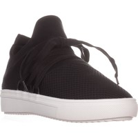 Steve Madden Lancer Fashion Sneakers, Black, 9.5 US