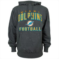 Miami Dolphins NFL Howie Charcoal Hoodie