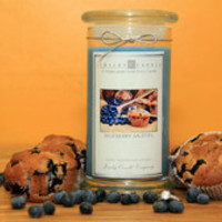 The Official Website of Jewelry Candles - Candles With Jewelry - Blueberry Muffin Jewelry Candles