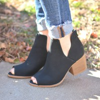Headed Out Bootie - Black