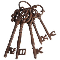 Buy Garden Bunch Of Rusty Keys online at John Lewis