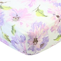 Tallulah Purple - Crib Sheet