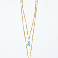 Arctic Waters Necklace - TURQUOISE