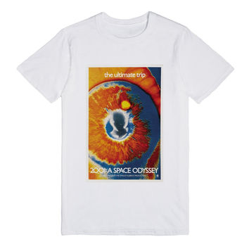 2001: A Space Odyssey Movie Poster T-shirt - Light