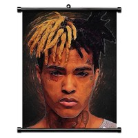 XXXTentacion Poster and Prints Canvas Paintings Jahseh Singer Wall Art Picture Fans Bedroom House Home Decoration Large 60X80cm