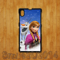 Frozen,Olaf,anna,Sony Xperia Z case,Sony Xperia Z1 case,Google Nexus 4 case, Google Nexus 5 case, sony Xperia Z1 cover,Sony Xperia Z cover