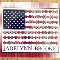 Sticker - Patriotic JLB Flag