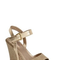 "Women's Me Too 'Lucie' Wedge Sandal, 4"" heel"
