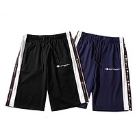 CHAMPION 2019 new side string logo letters wild sports casual shorts