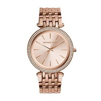Michael Kors Rose Goldtone Darci Watch