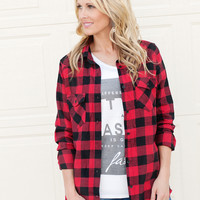 Candy Flannel Shirt