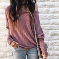 Women'S Bat Sleeves Knitted Sweaters