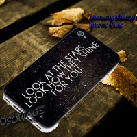 Coldplay the scientist quotes Cover iPhone 4 4S iPhone 5 5S 5C and Samsung Galaxy S3 S4 S5 Case