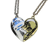 Star Wars R2-D2 & C-3PO Best Friends Necklace Set