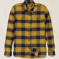 Stapleford Kettle Plaid Flannel Button-Down Shirt