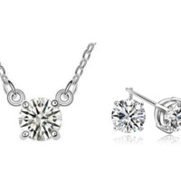 Jewelry Sets for Women- Lori Necklace and Earring Set-Wedding Jewelry Sets for Brides