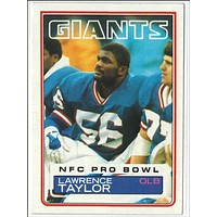 Lawrence Taylor 1983 Topps #133 HOF LB New York Giants MVP, 2nd Year
