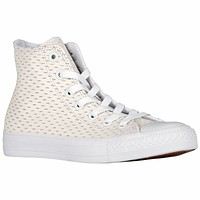 Converse All Star Leather High White Gold 153115C Mens Shoe