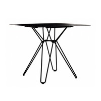 TIO SQUARE DINING TABLE METAL at Spence & Lyda