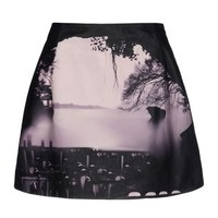 Mary Katrantzou Leather Skirt - Mary Katrantzou Leatherwear Women - thecorner.com