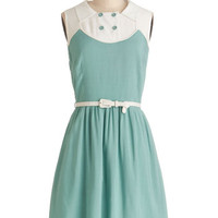 Myrtlewood Vintage Inspired Mid-length Sleeveless A-line Boot Scootin' Cutie Dress