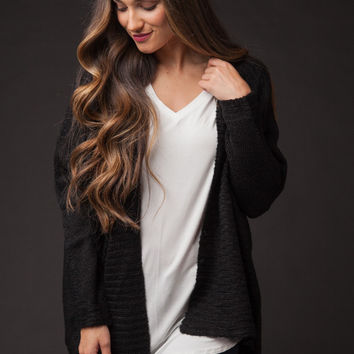 Inspired Moments Black Sweater