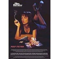 Pulp Fiction Film Review Poster 24x34