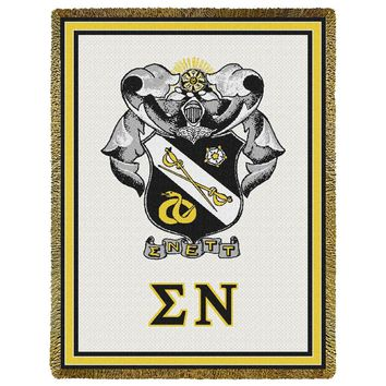 Sigma Nu Throw Blanket