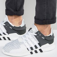 adidas Originals EQT Support Advance Sneakers In White BB1296 at asos.com
