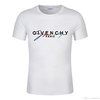 Givenchy High quality 2019 Summer Men T shirt with wash mark + anti-counterfeiting buckle Champions C large women short-sleeved t-shirt